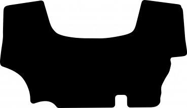 Case Farmall A 55A-75A Fußmatte Velour schwarz ab Baujahr 2018