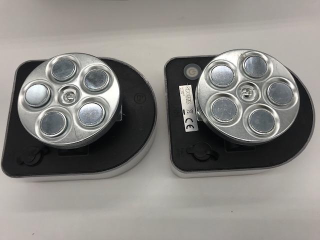Connix Akku-LED-Leuchtensatz kabellos Magnet Funk Wireless Rücklicht Anhänger
