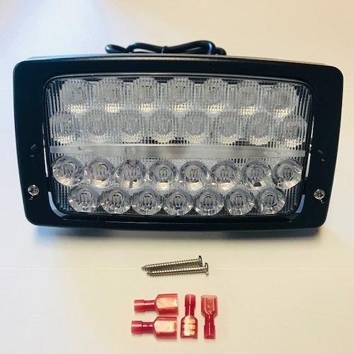 LED Arbeitsscheinwerfer Einbauscheinwerfer 3280 Lumen passend für Deutz-Fahr